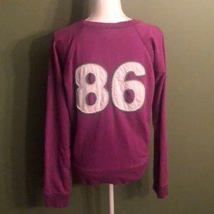 PINK Victoria's Secret Tops - Women's size large VS Pink sweatshirt!